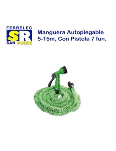 MANGUERA AUTOPLEGABLE 15MT CPISTOLA