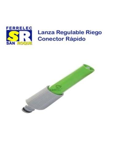 LANZA REGULABLE RIEGO RAPIDO
