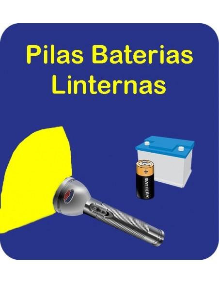 Pilas Baterías Linternas