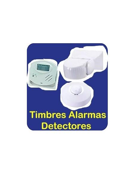 Timbres Alarmas Detectores
