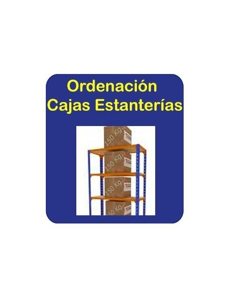 Ordena, Cajas-Estanterías