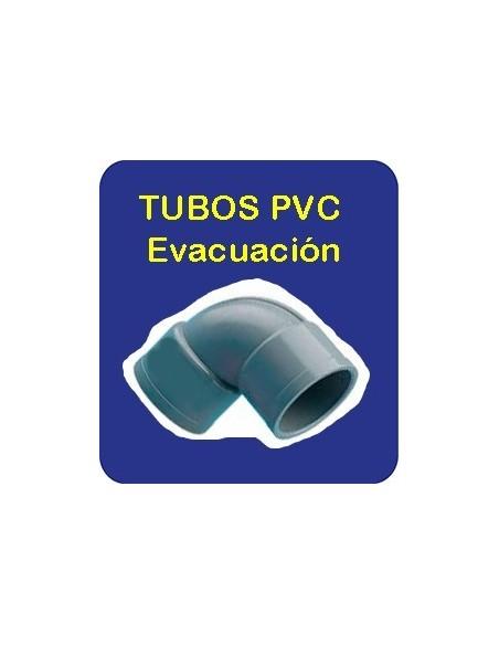 Tubo PVC Evacuación