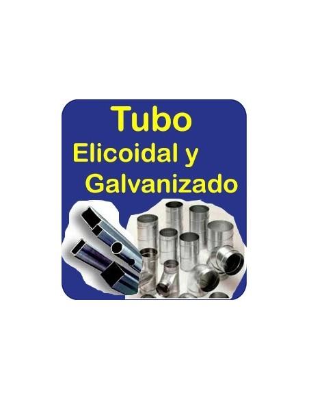 Tubo Helicoidal-Galvaniz.