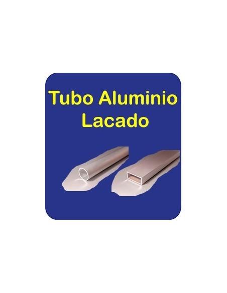 Tubo Alum Lacado
