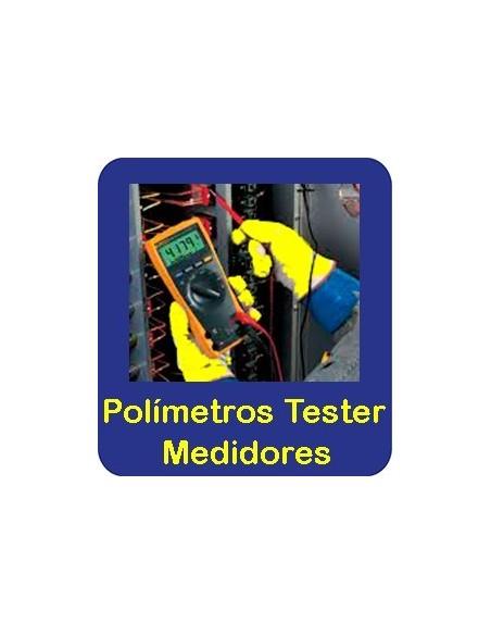Polímetros Tester Medidores