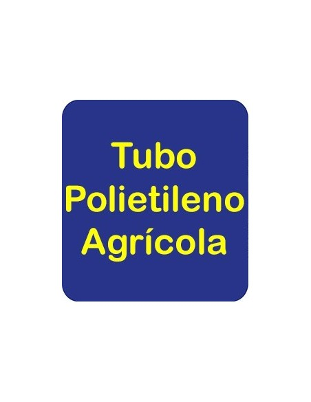 Tubo Polietileno Agrícola